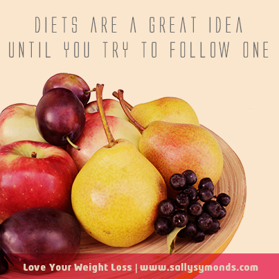 Diets are a great ideauntil you try to follow one