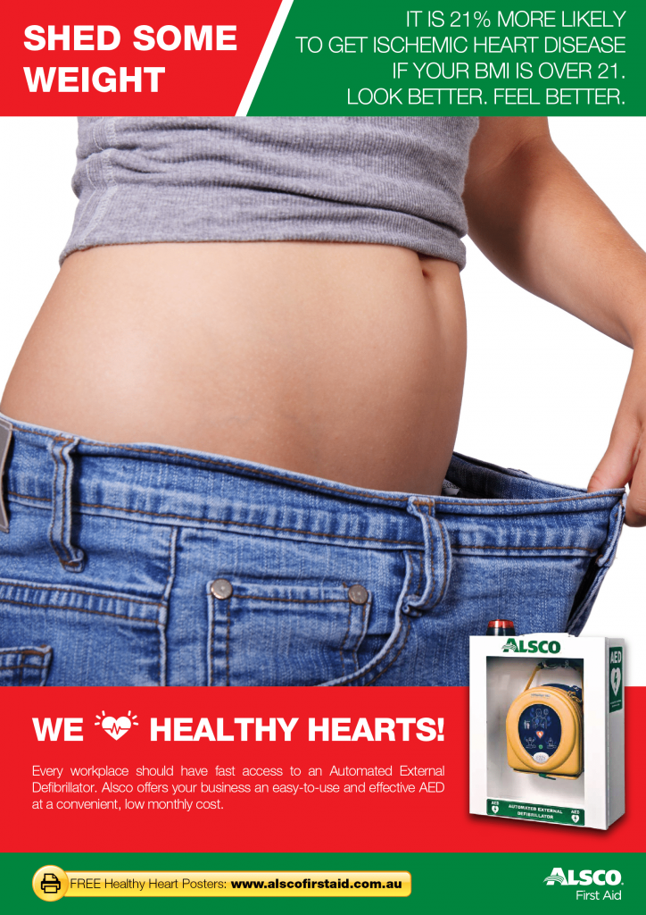 AED-Heart-Health-Poster-Lose-Weight