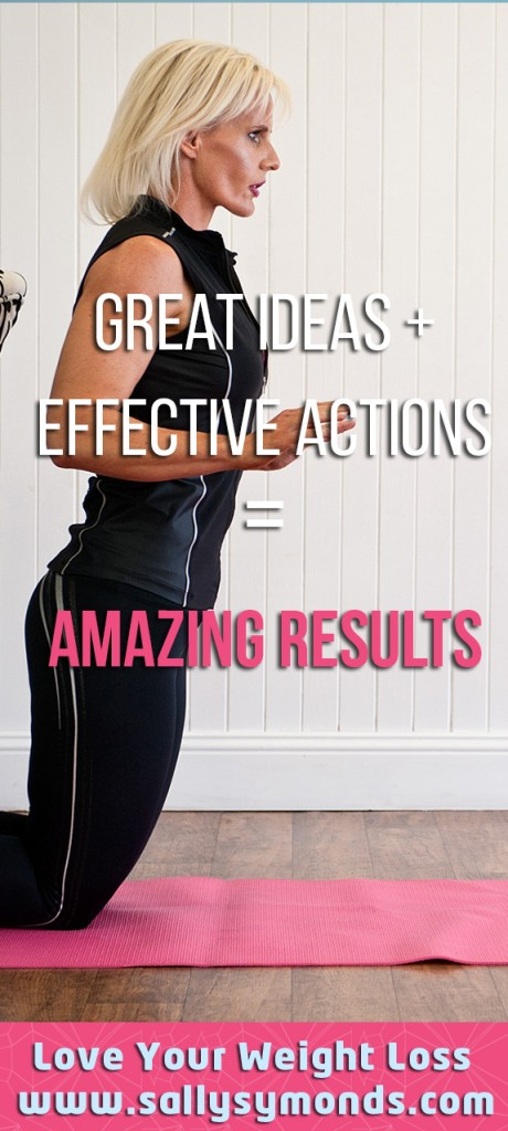 Great ideas + effective actions AMAZING RESULTS