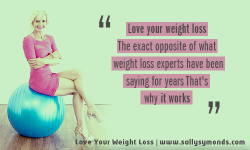 Love your weight lossTheExactOppositeOfWhat