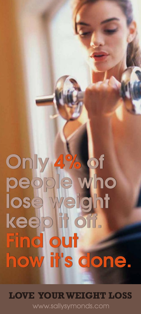 Only 4% of people who lose weight keep it off. Find out how it's done.