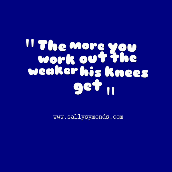 the more you work out