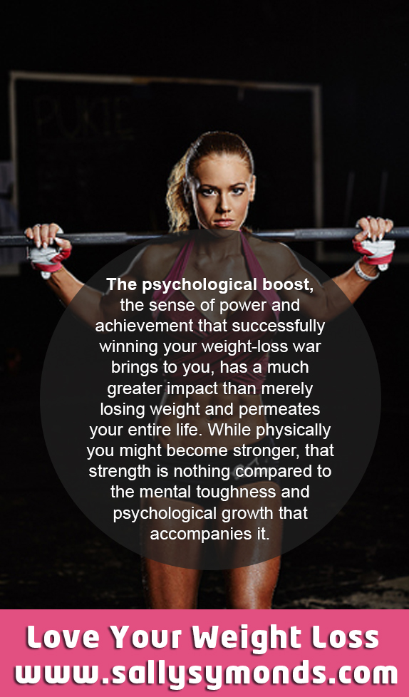 the psychological boost the sense of power