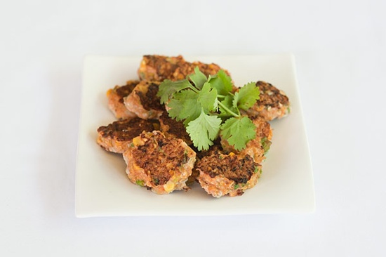 Moroccan Prawn Fritters: Weight Loss Lunch!
